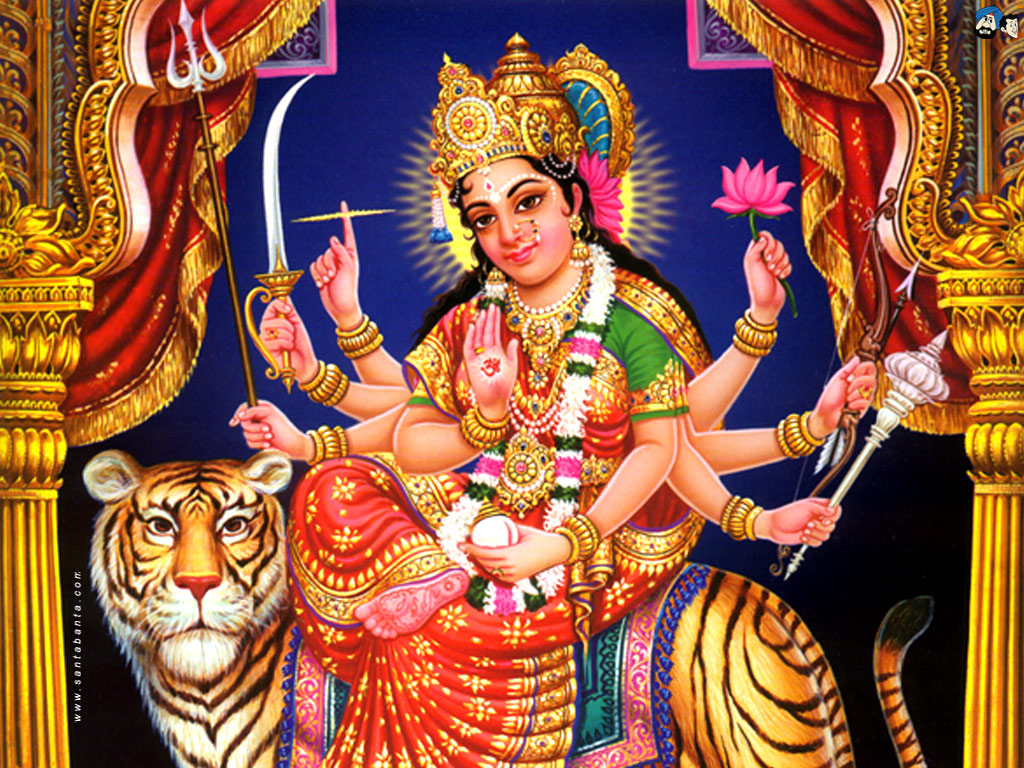 Goddess Durga Wallpaper 17 1024x768
