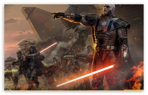 Star Wars The Old Republic HD wallpaper for Wide 1610 53 Widescreen 510x330