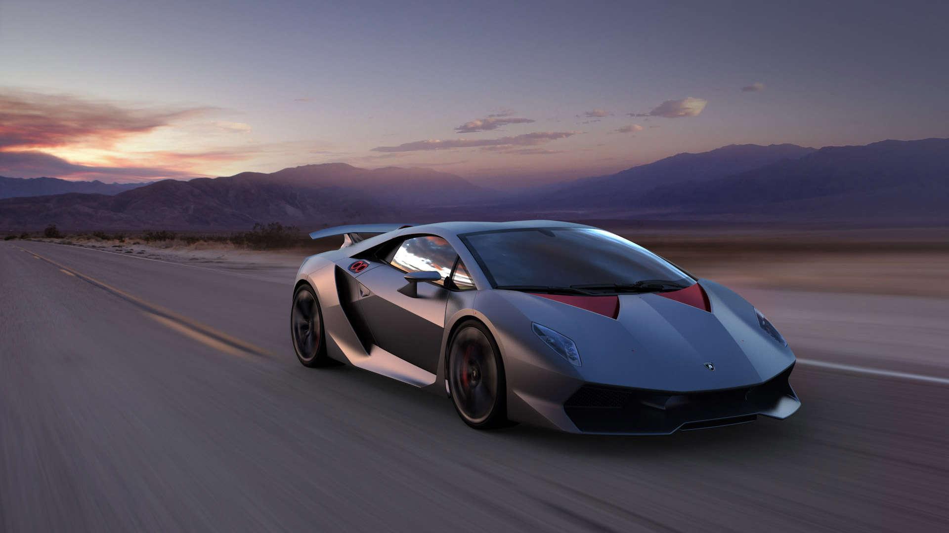 Wallpaper Lamborghini Sesto Elemento HD Wallpaper 1080p Upload at 1920x1080