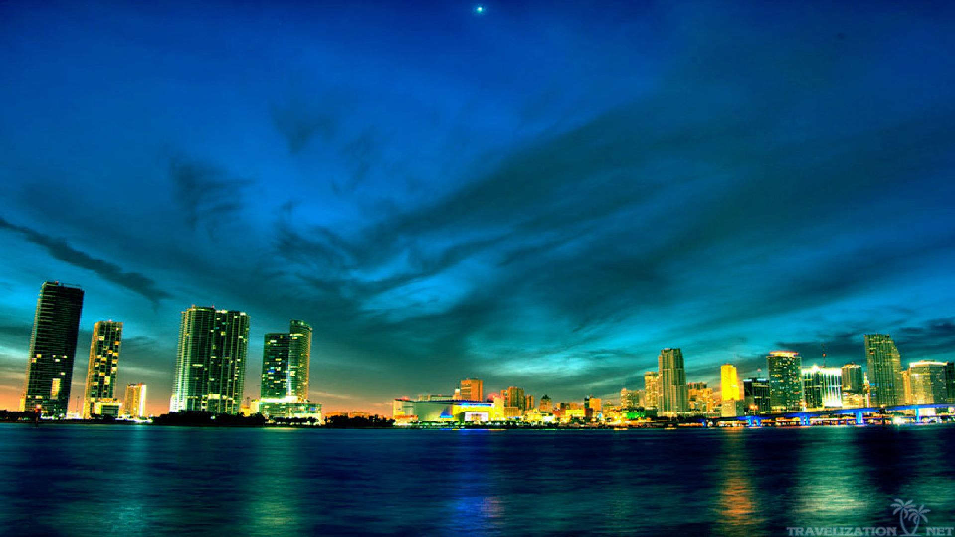 Miami Beach Wallpaper 1920x1080