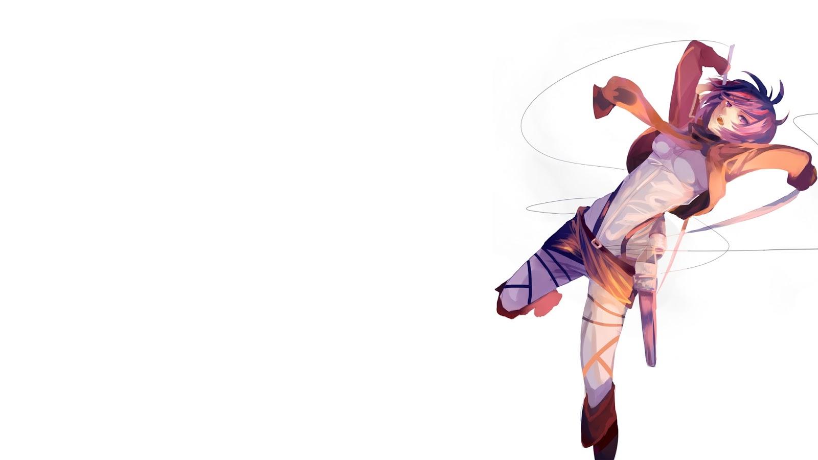 Mikasa Ackerman Attack on Titan Shingeki no Kyojin Female Girl Anime 1600x900