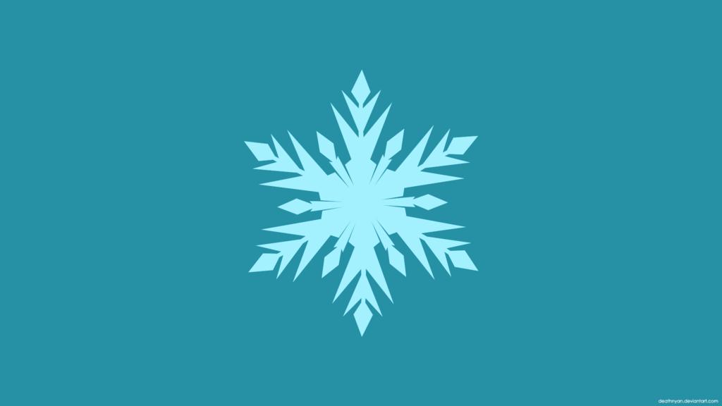 Frozen Minimalist Wallpaper by DeathNyan 1024x576