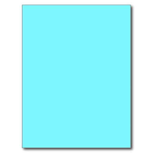 electric blue background postcard Zazzle 512x512