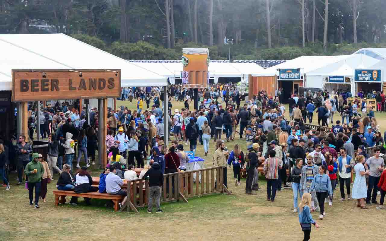 Beer Lands Outside Lands   August 9 11 2019 Golden Gate Park 1280x800