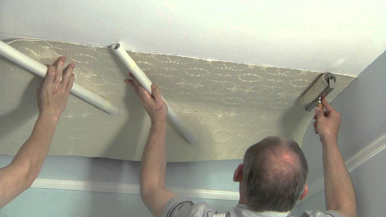 Lincrusta   How to Install Lincrusta on a Ceiling 1280x720