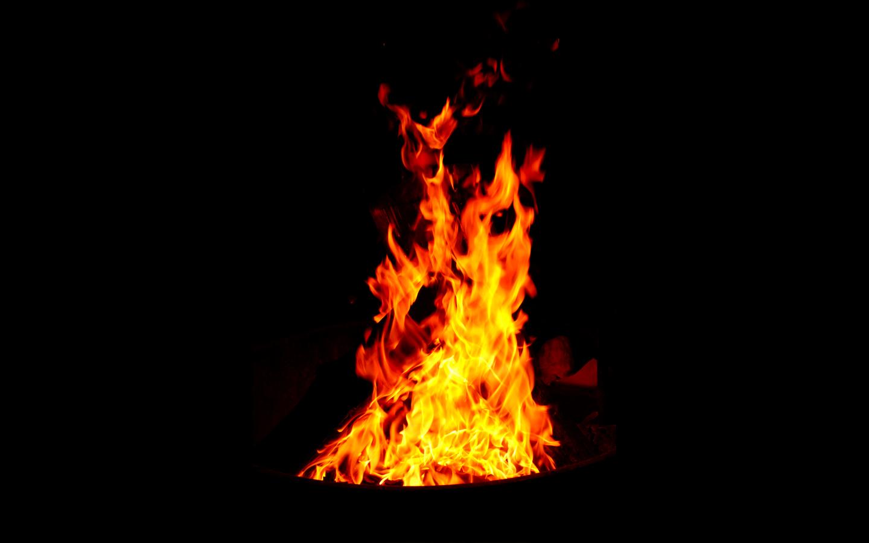 Fire Black Background Fresh New Hd Wallpaper 1440x900