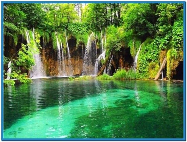 Live waterfall screensaver 628x476