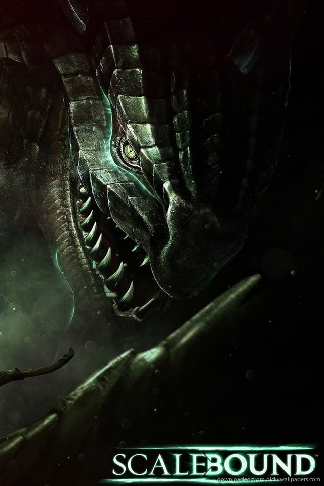 Download Scalebound Video Game Wallpaper Wallpaper For iPhone 4 640x960