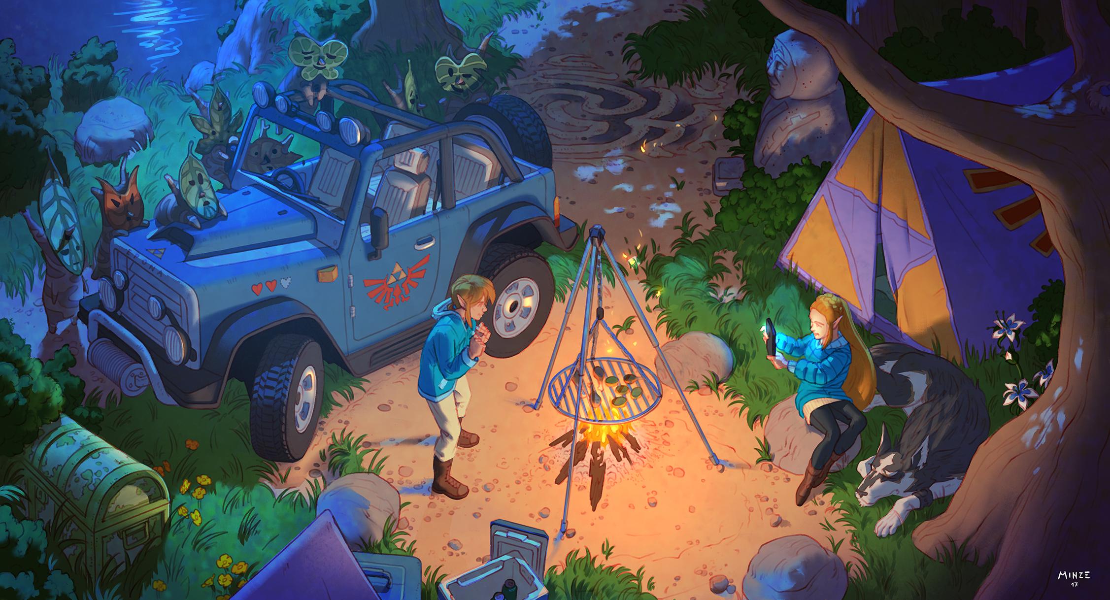 140 The Legend of Zelda Breath of the Wild HD Wallpapers 2253x1218