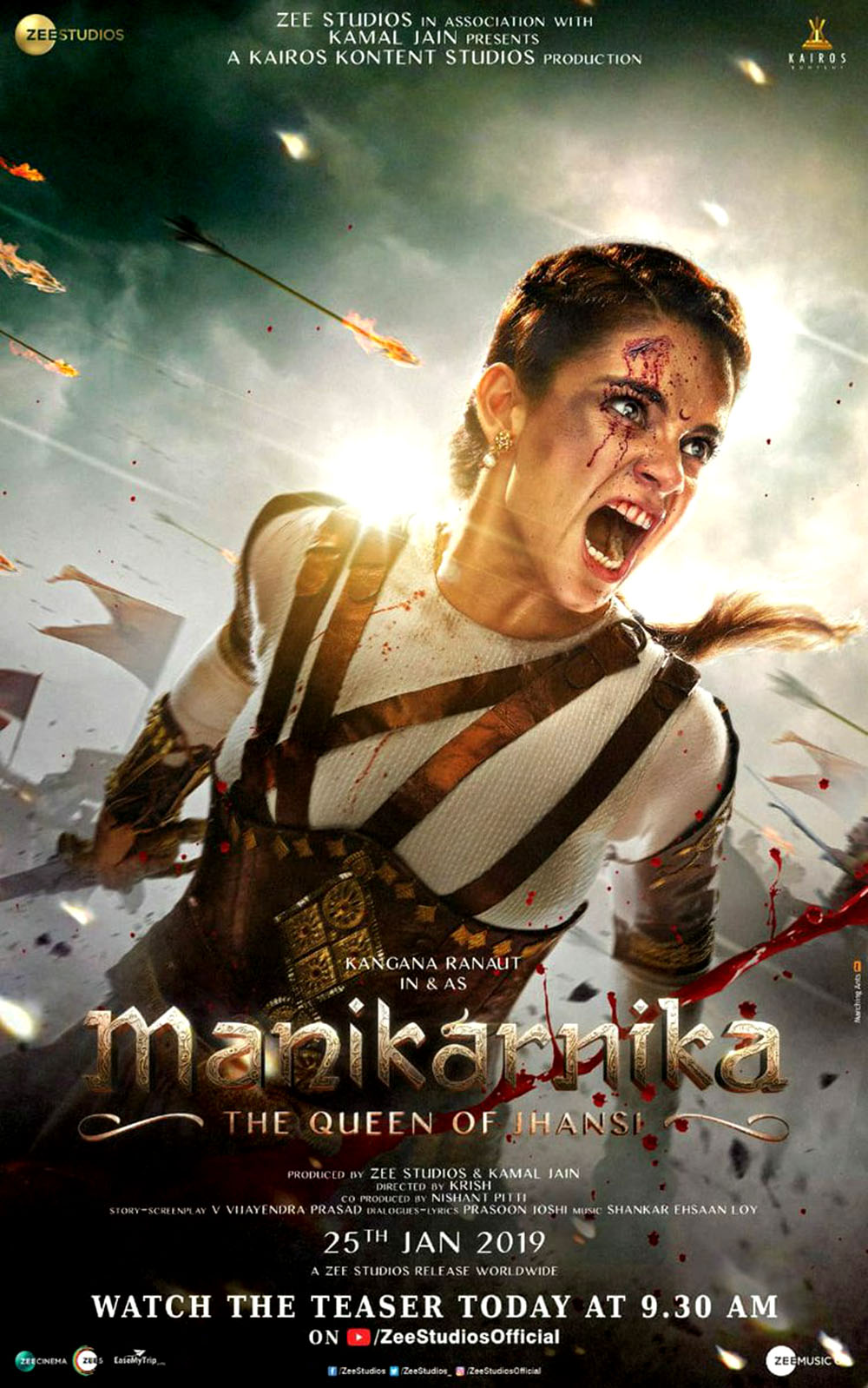 Manikarnika The Queen Of Jhansi 1000x1598