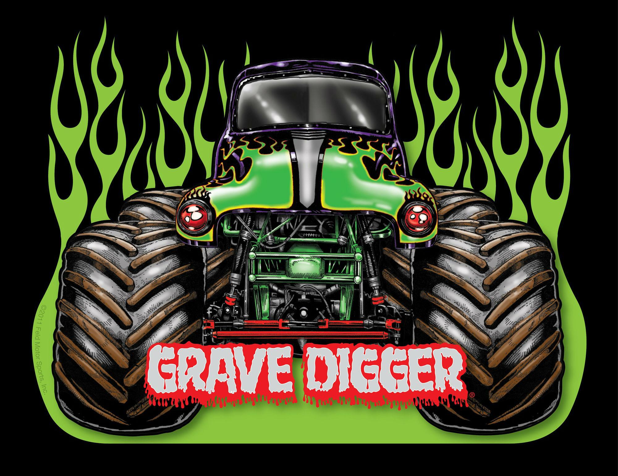 GRAVE DIGGER monster truck 4x4 race racing monster truck js 2000x1541