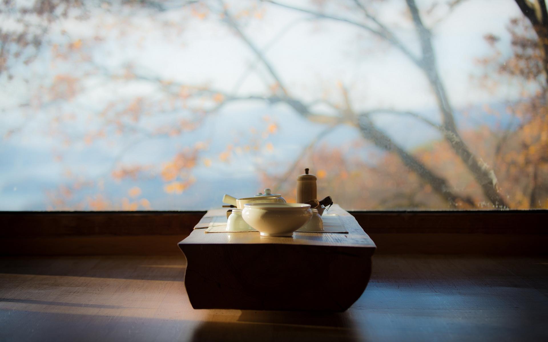 morning meditation tea table -#main