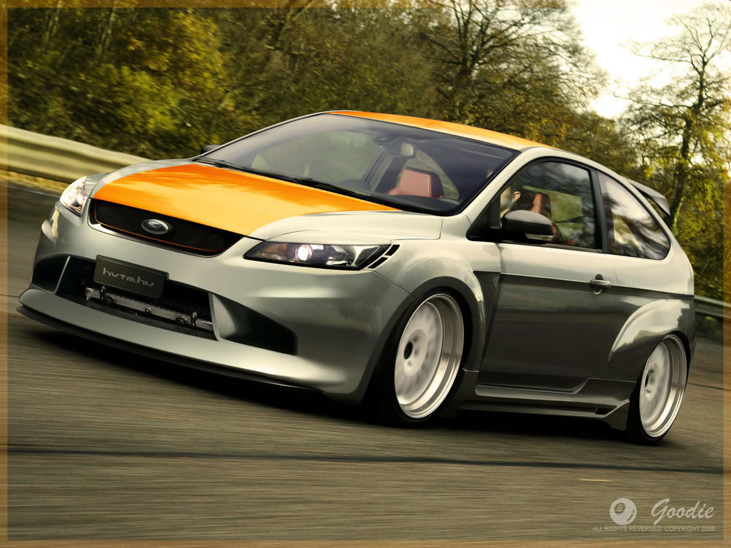Windows Vista Wallpaper Ford Focus Wide Wallpaper 1024x768