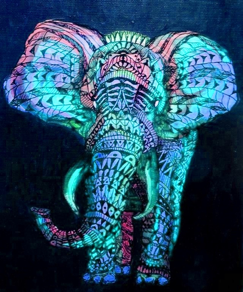 Psychedelic Wallpaper Android: Cute Elephant Wallpapers Tumblr