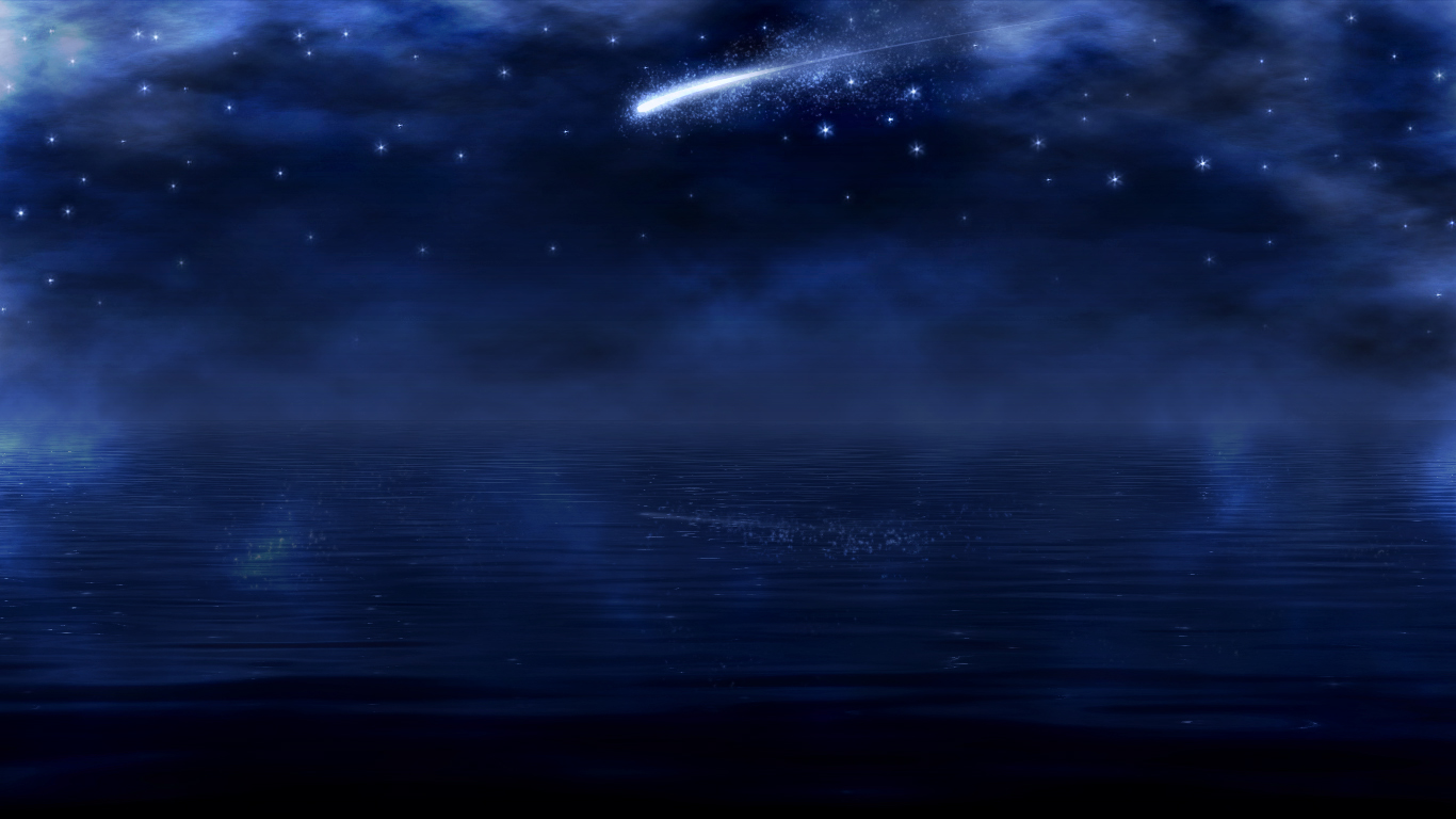 Shooting Star Re Edit 2 by txvirus 1366x768