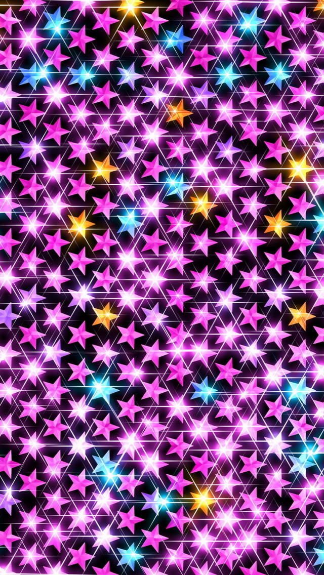 Stars Sparkle iPhone Wallpaper Wallpapering my iPhone Pinterest 640x1136