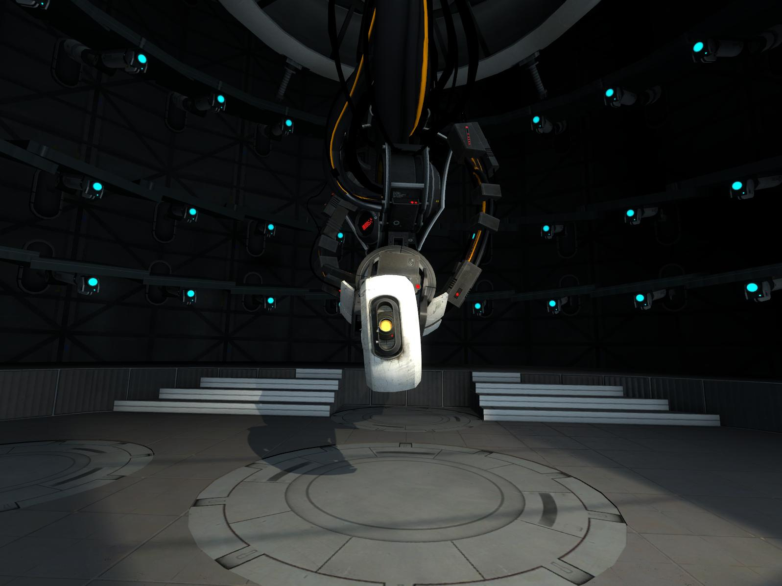 Portal 2 GLaDOS Wallpaper LOLd Wallpaper   Funny Pictures   Funny 1597x1197