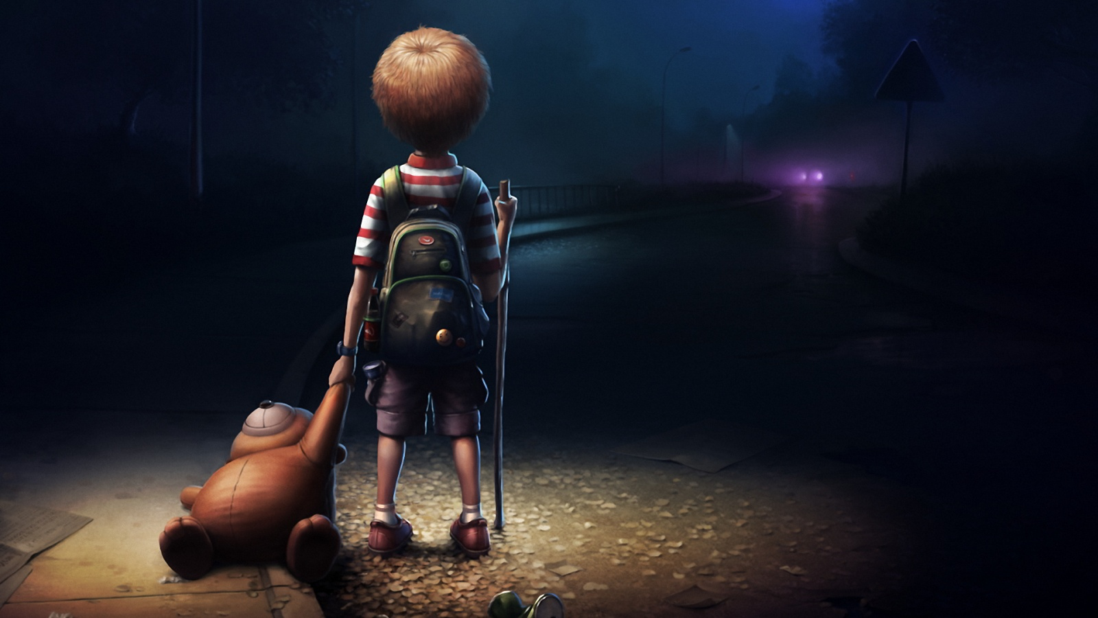 Leave Alone Kid Style HD Wallpaper   StylishHDWallpapers 1600x900