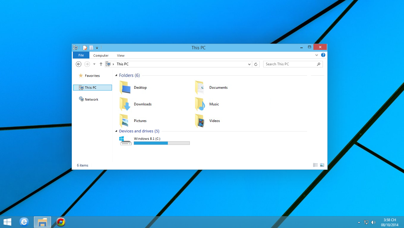 Free Download Windows10 Theme For Windows 81update By Cu88