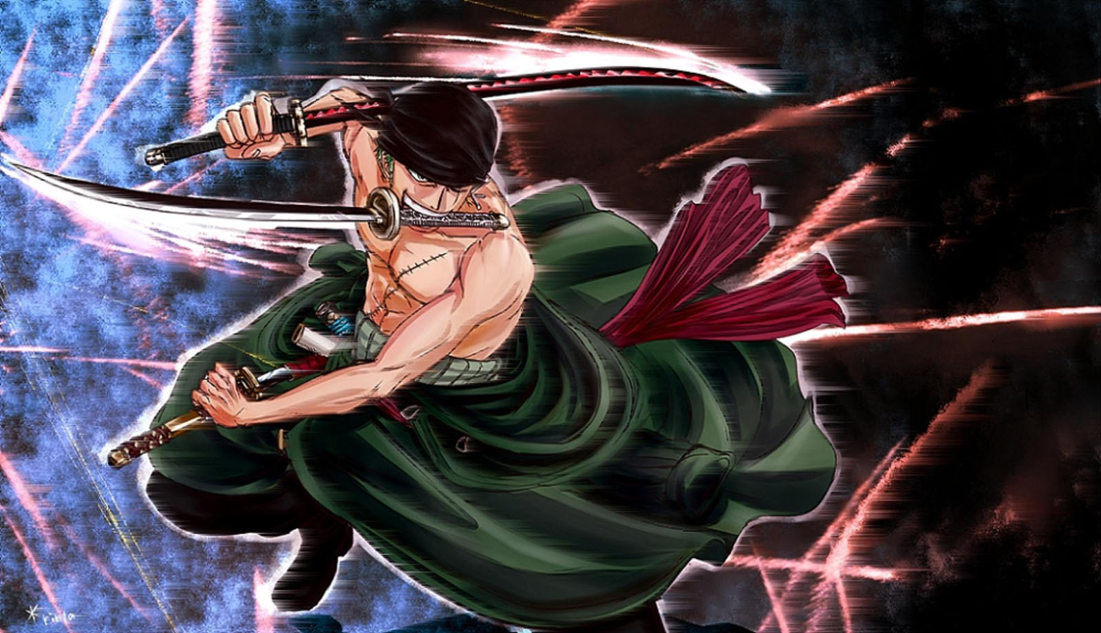 76 Roronoa Zoro Wallpapers On Wallpapersafari