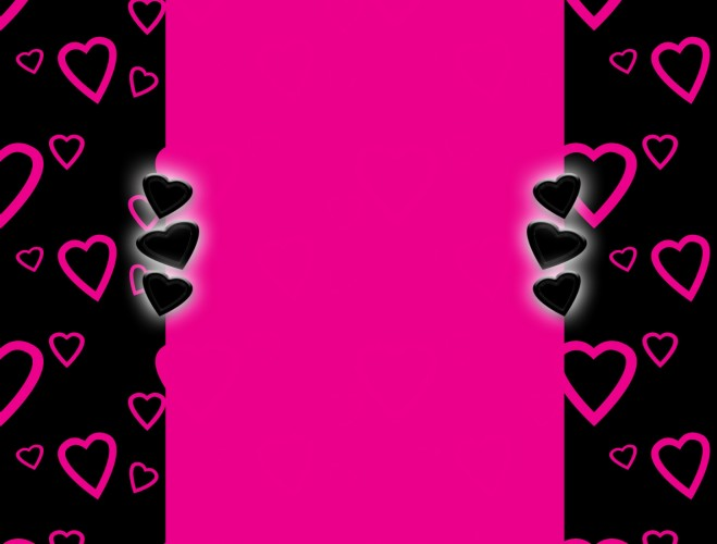 Pink Hearts Background Heart Blog The Cutest Blog On The Block 659x500