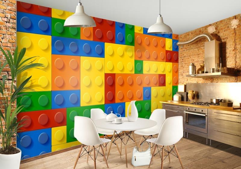 Lego Brick Wallpaper Bedroom Walls   lego brick wallpaper bedroom 800x562