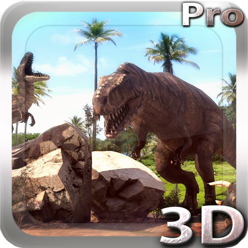 Dinosaurs 3D Pro live wallpaper ikon dinopng 512x512