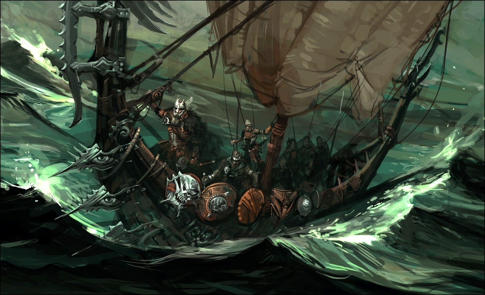 Viking Ship Wallpaper Hd Images Pictures   Becuo 1600x974