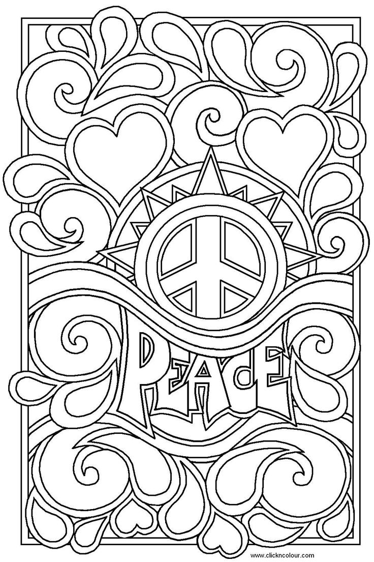 printable coloring pages for teens Images For Detailed Coloring 736x1105