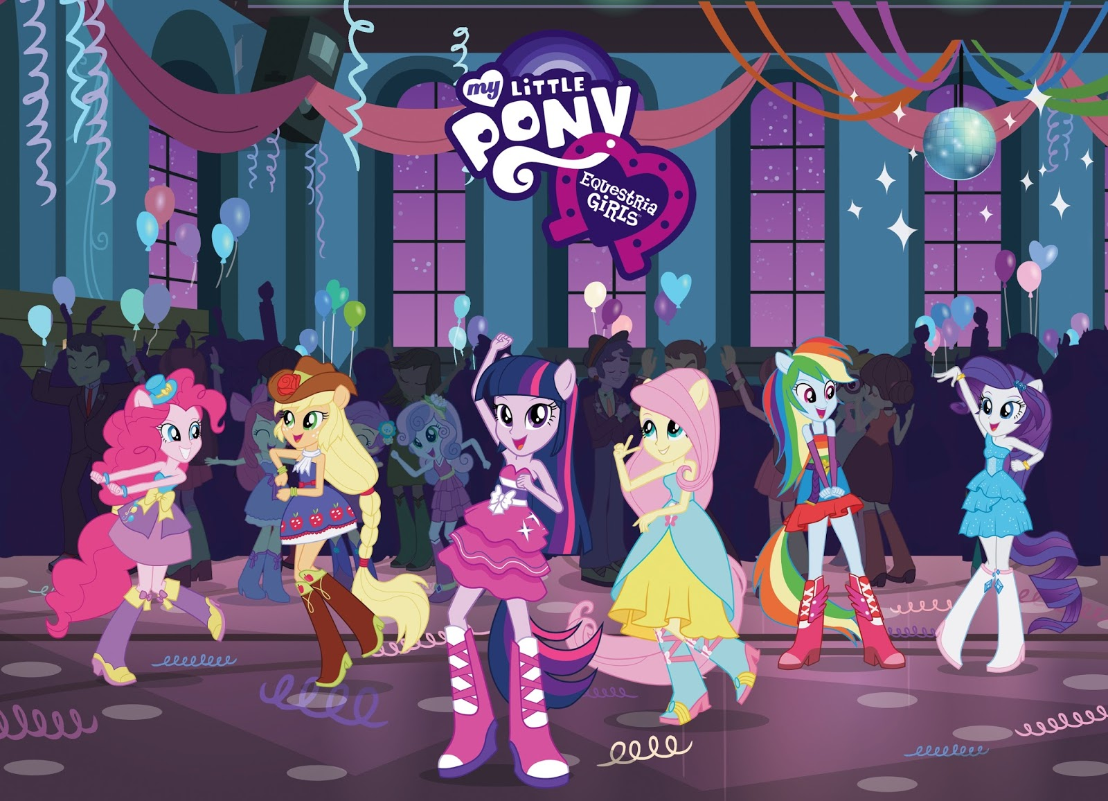 Free My Little Pony Equestria Girls On Blu Ray DVD