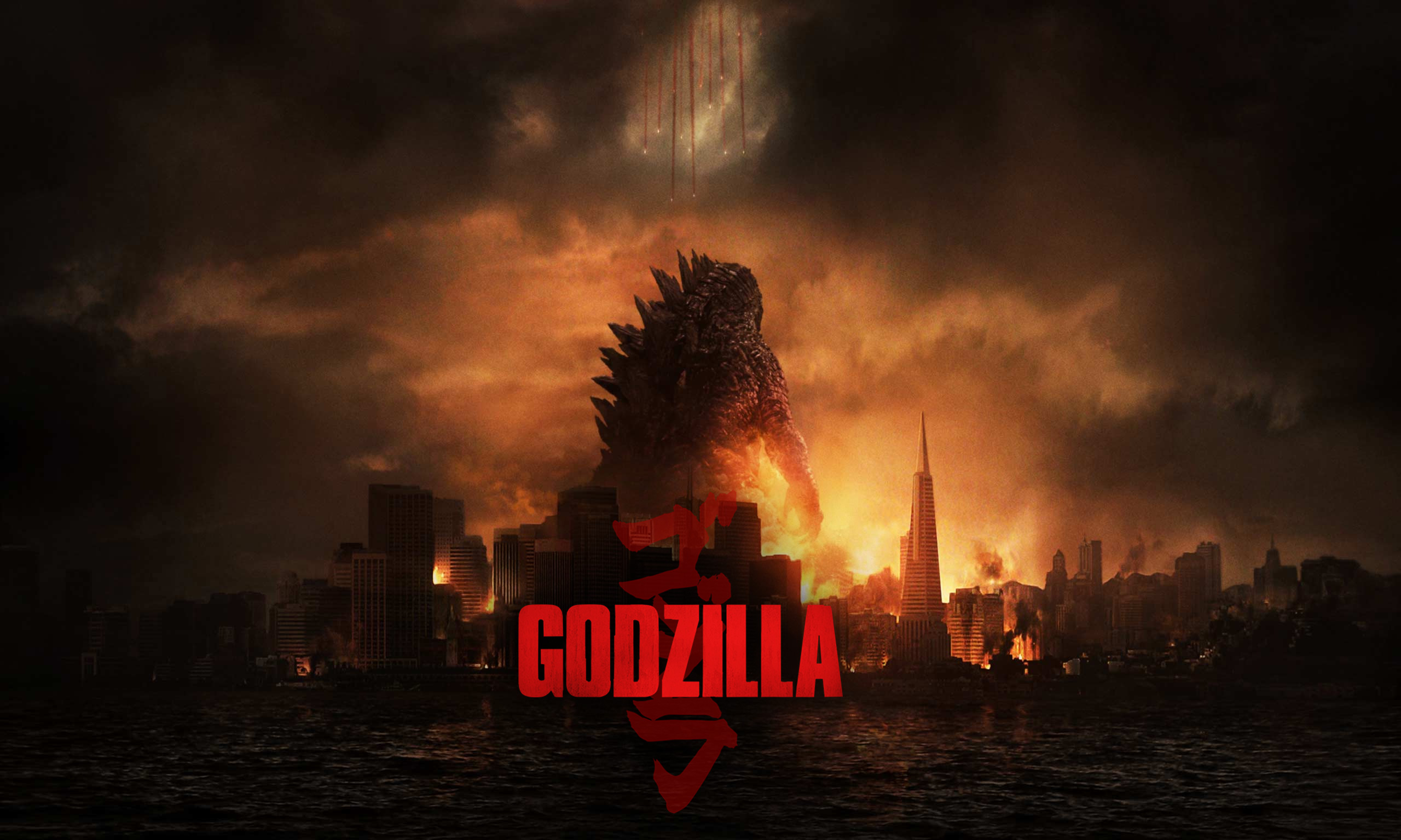 The gallery for   gt Godzilla 2014 Wallpaper 2560x1536