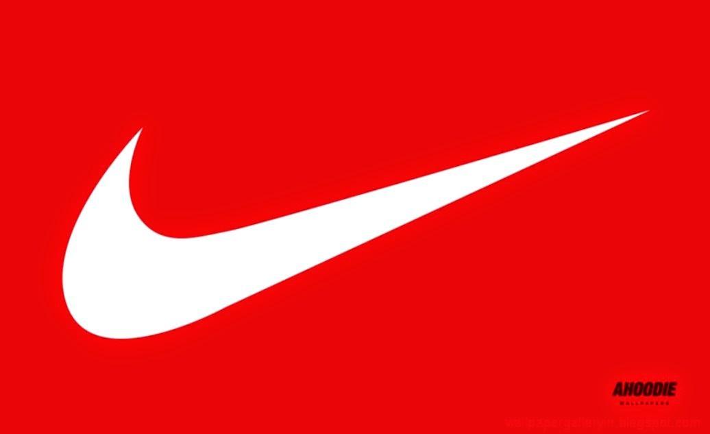 Nike Logo Red Wallpapers Hd Wallpaper Gallery 1036x633
