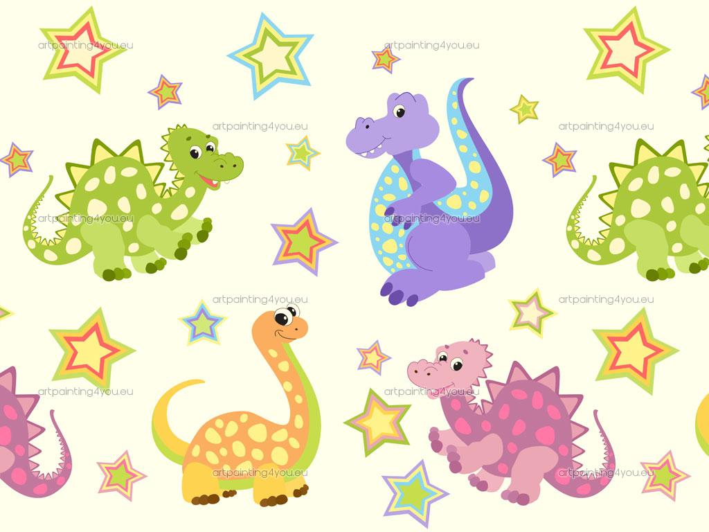 Baby Dinosaur Wallpaper By On Borders