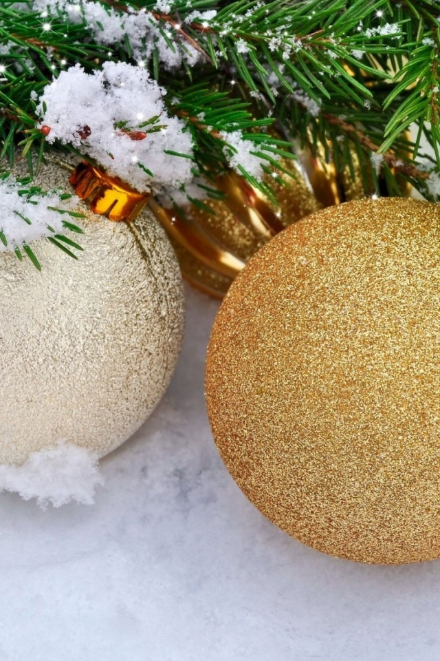 Christmas Decorations Background Mobile Wallpaper   Mobiles Wall 640x960