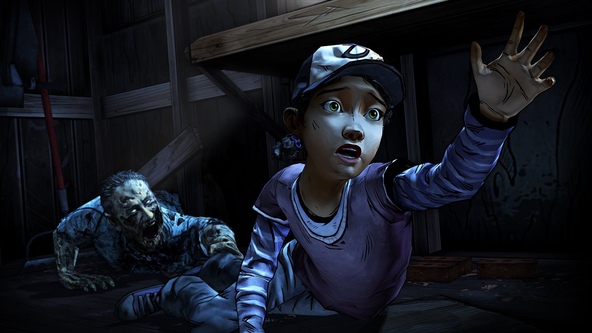 The Walking Dead The Game Season 2 wallpaper background 1920x1080