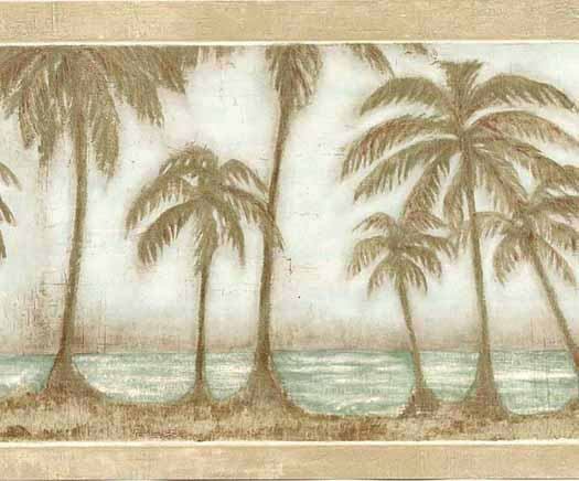 Wallpaper By Topics Nautical Tropical   Wallpaper Border 525x436
