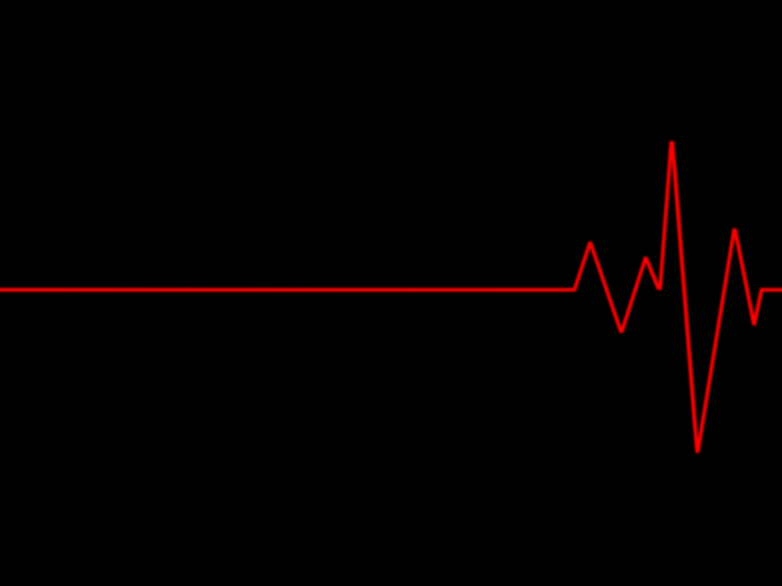 Wallpaper 4 heart beat red and black wallpapers Black Background and 1600x1200