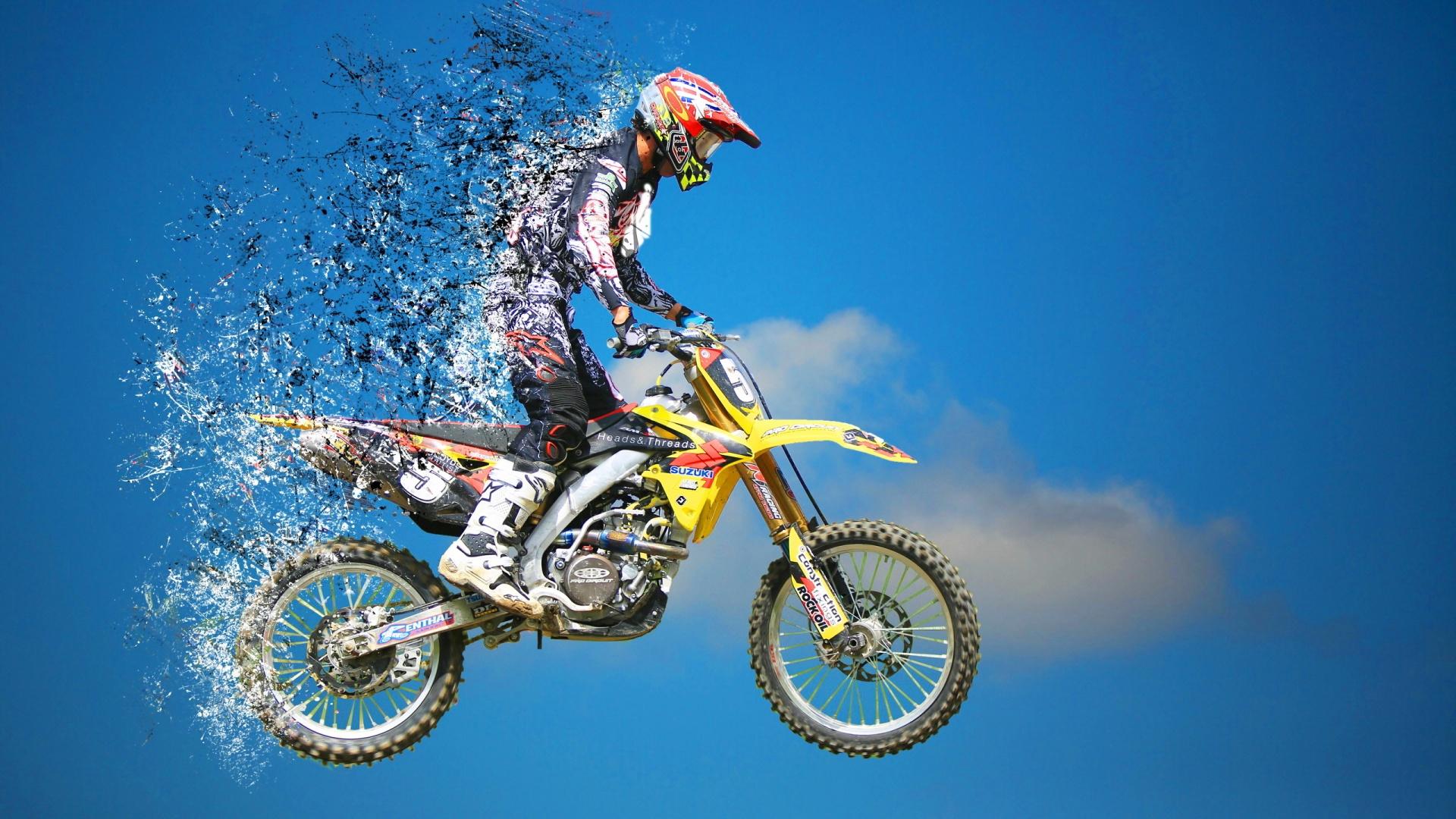 Pics Photos   Motocross Wallpaper Download 1920x1080