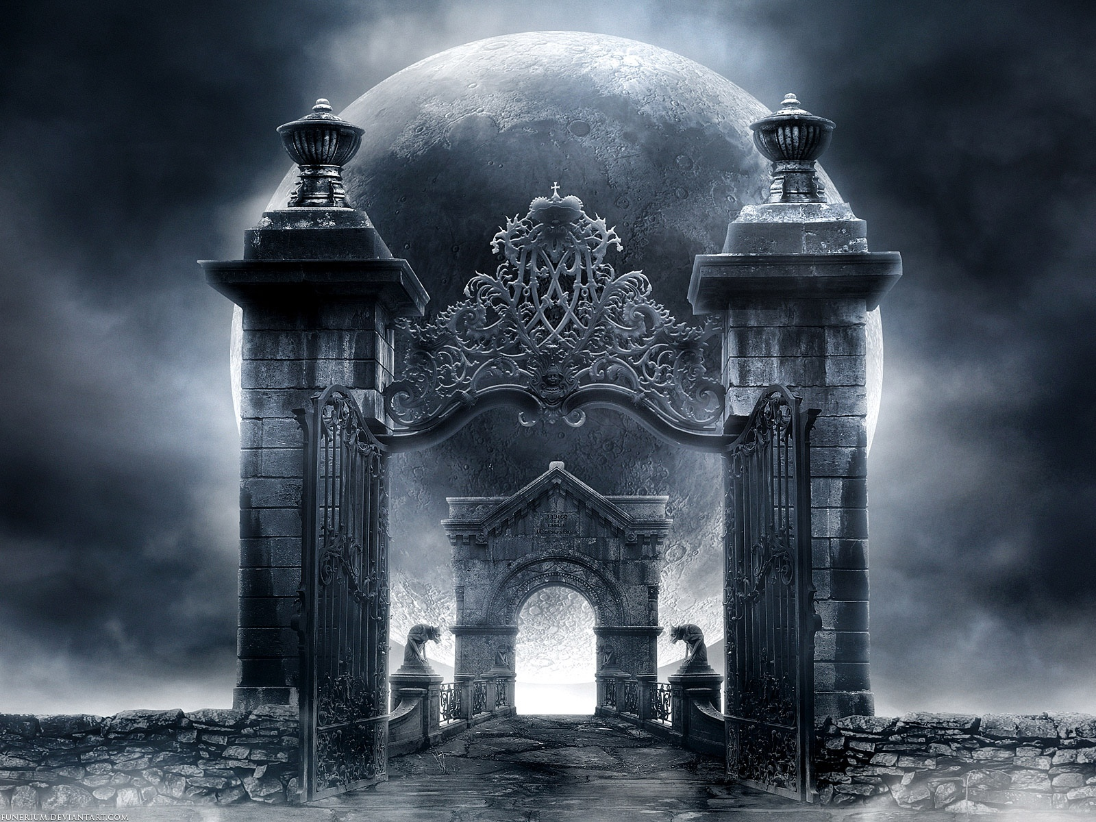 gothic gate Computer Wallpapers Desktop Backgrounds 1600x1200 ID 1600x1200