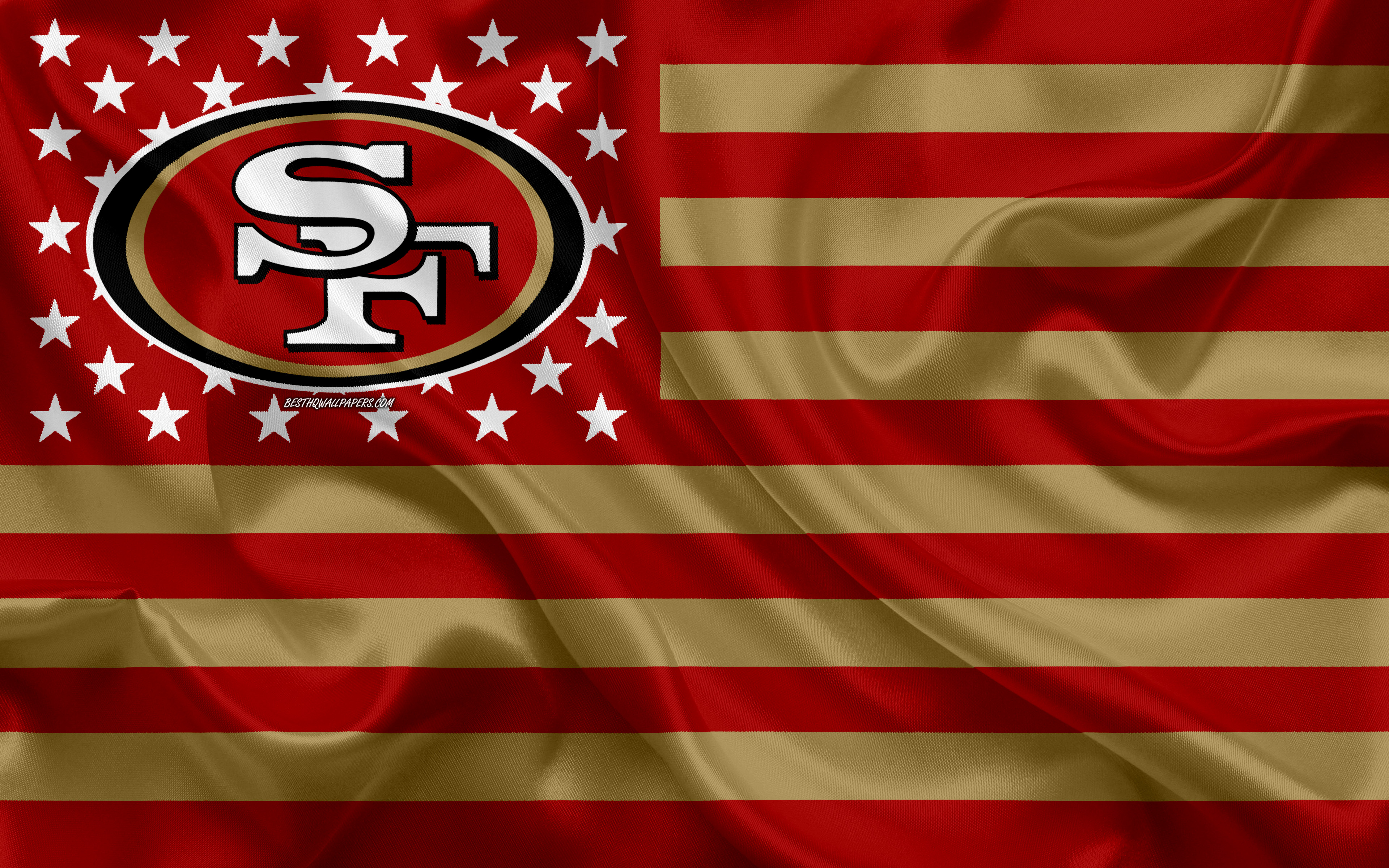 Free Download Download Wallpapers San Francisco 49ers American Football Team 3840x2400 For Your Desktop Mobile Tablet Explore 64 49ers Desktop Wallpaper San Francisco 49ers Desktop Wallpaper 49ers Wallpaper Hd