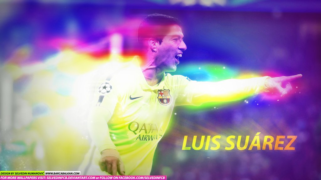 Luis Suarez FC Barcelona 2015 WALLPAPER HD by SelvedinFCB on 1024x576