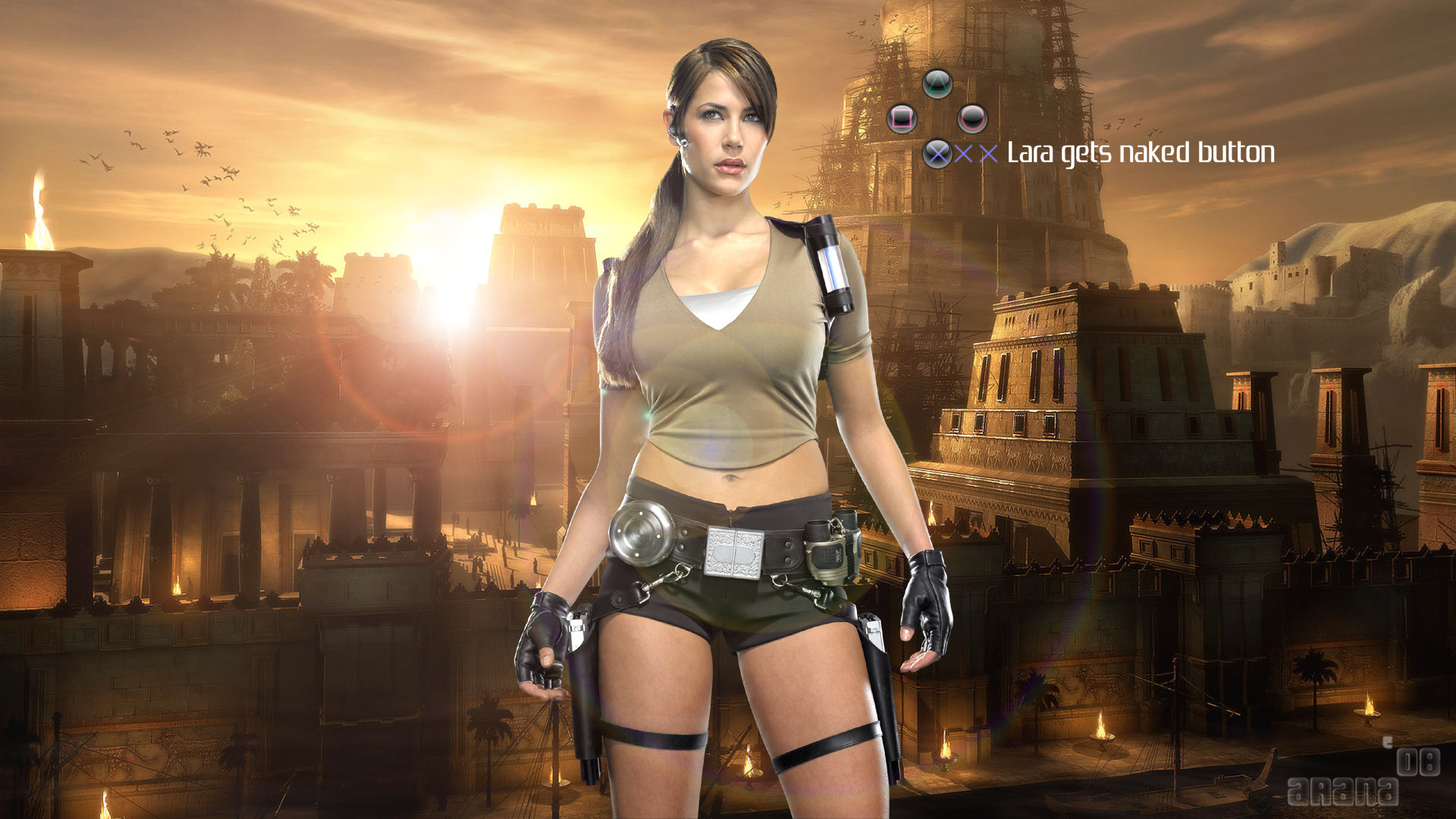 Lara Croft HDTV 1080p Wallpapers HD Wallpapers 1920x1080