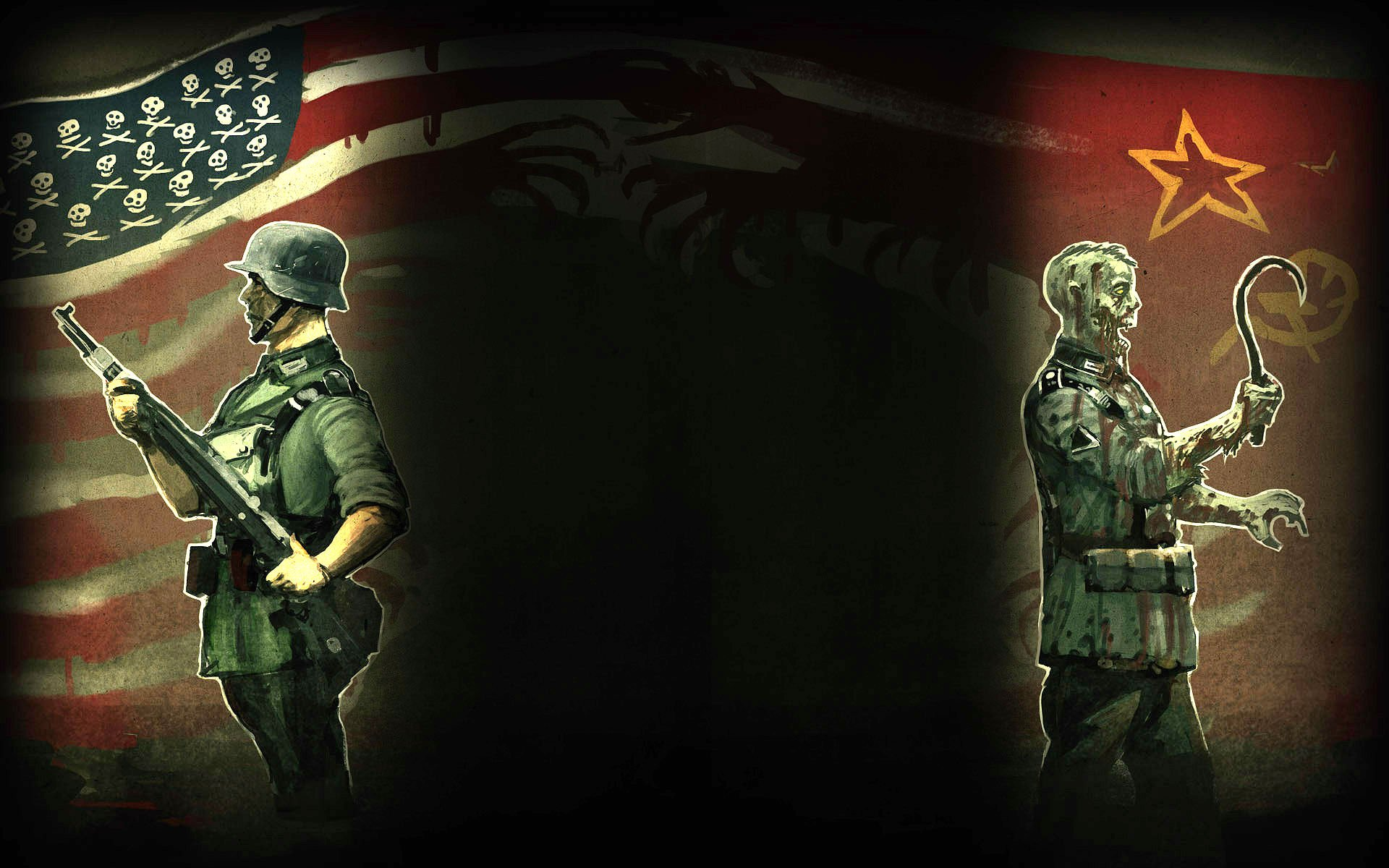 cool call of duty zombies wallpapers