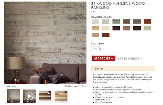 My Notting Hill Stikwood Peel Stick Real Wood Paneling 640x411