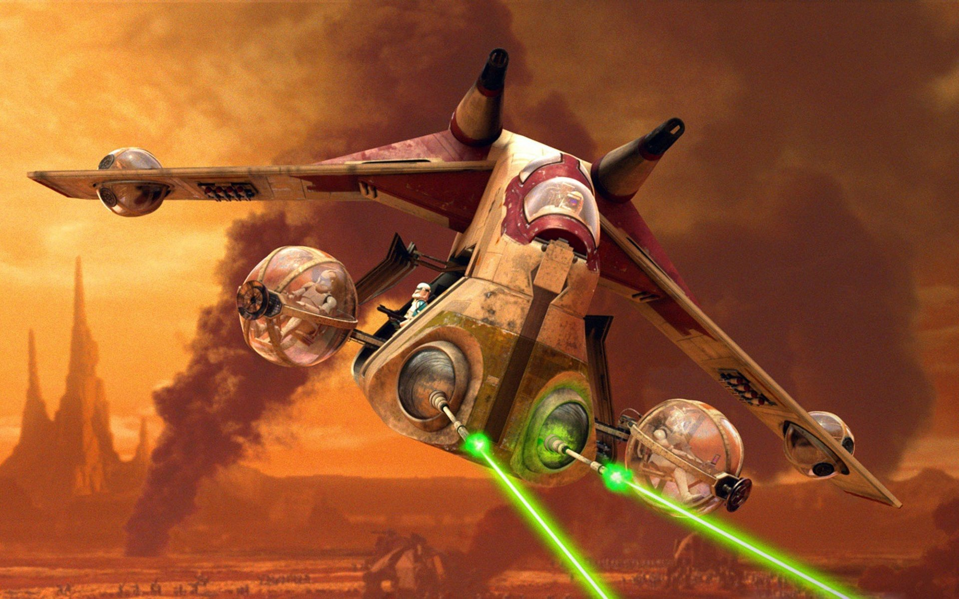 STAR WARS CLONE WARS animation sci fi cartoon futuristic television 1920x1200
