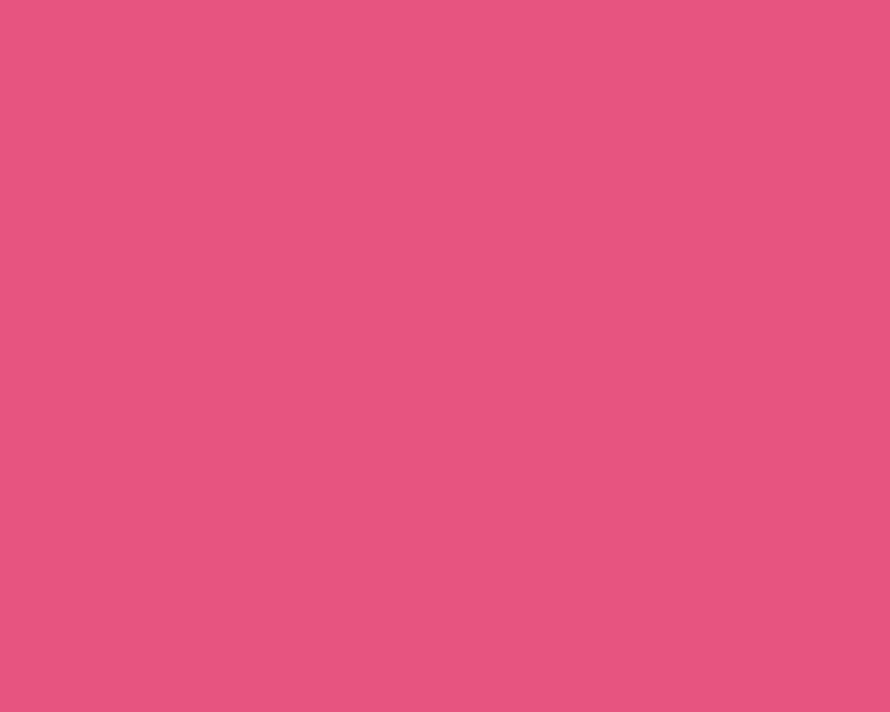 Pink Solid Color Background 1280x1024