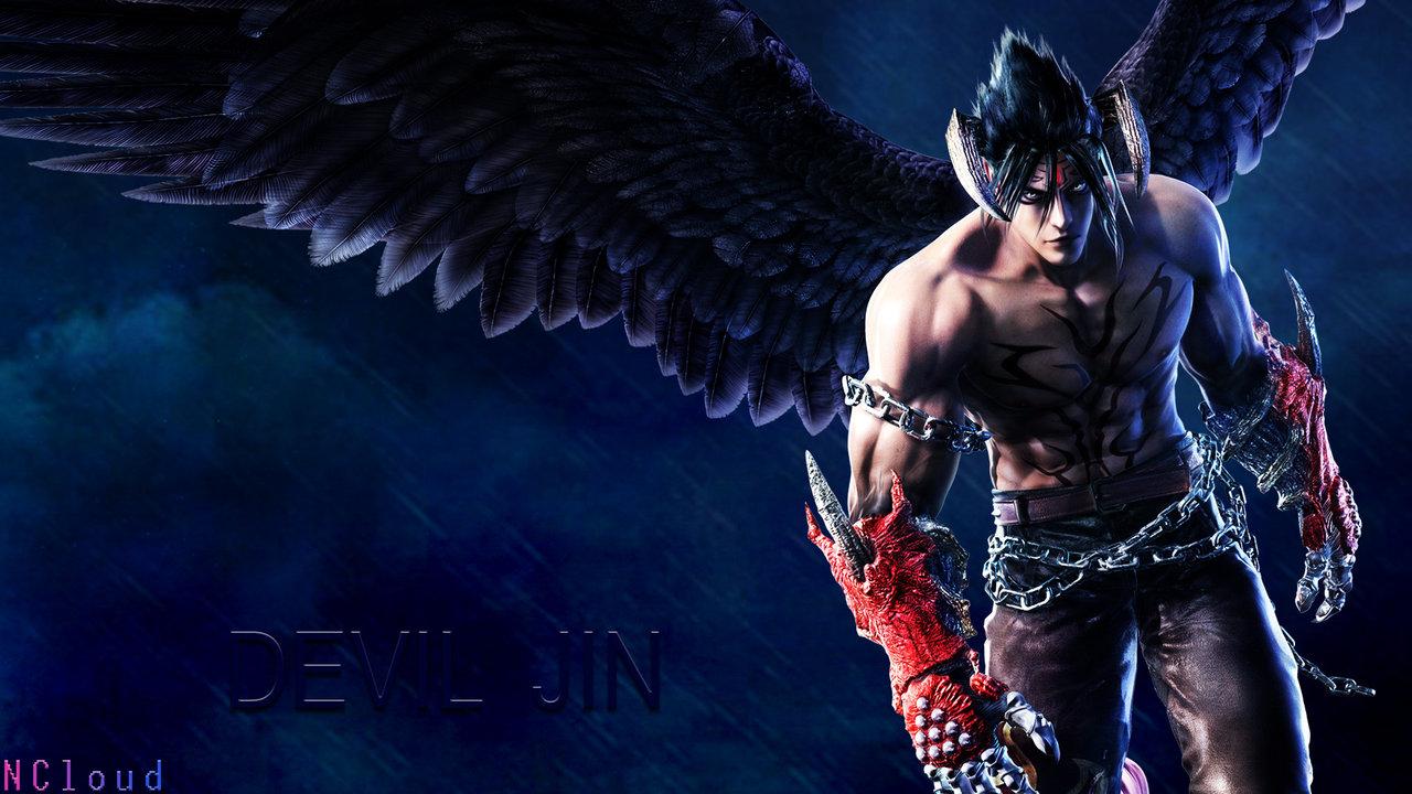 tekken 6 devil jin by naughtyboy83 fan art wallpaper games 2010 2015 1280x720