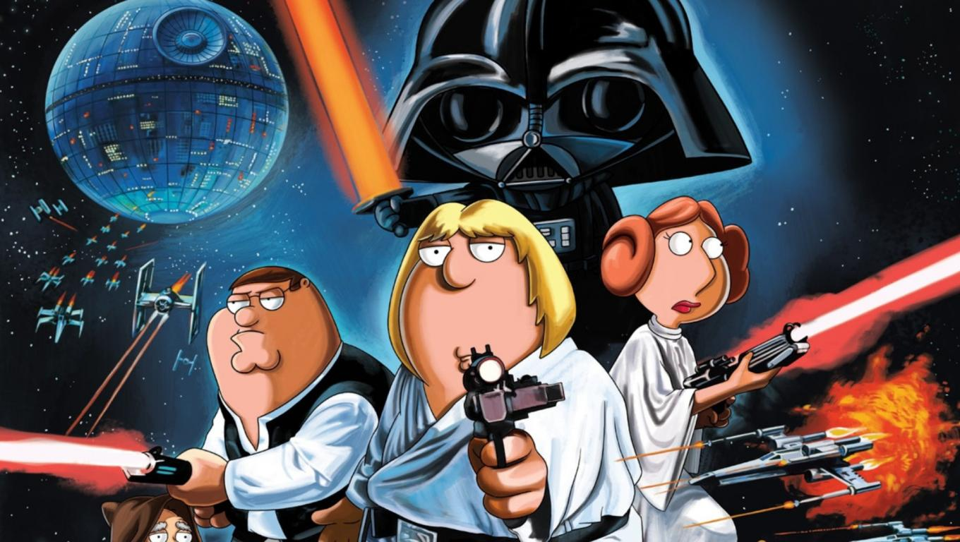 Family Guy Star Wars 1360x768
