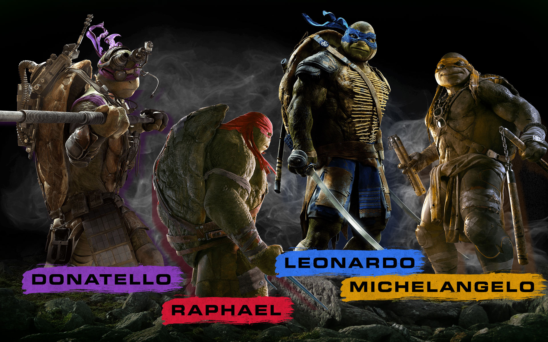 41 Ninja Turtles 2014 Wallpaper On Wallpapersafari