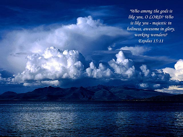 Inspirational bible verse screensaver 640x480
